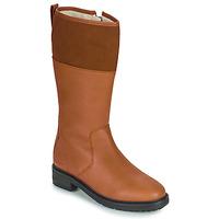 Shoes Women Boots Kickers WATHIGH Camel