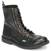 Shoes Men Mid boots Kickers KICKSTONERY ZIP Black