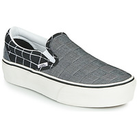 Shoes Women Slip ons Vans CLASSIC SLIP-ON PLATFORM Grey