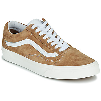 Shoes Low top trainers Vans OLD SKOOL Camel