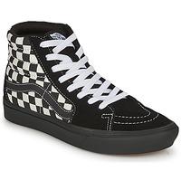 Shoes Women High top trainers Vans COMFYCUSH SK8-HI Black