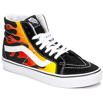 Shoes High top trainers Vans SK8-HI REISSUE Black / Flame
