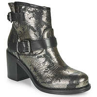 Shoes Women Ankle boots Mimmu JOUDI Black / Gold