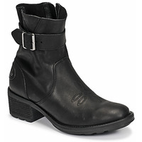 Shoes Women Ankle boots Palladium Manufacture MARGO 04 LEA Black