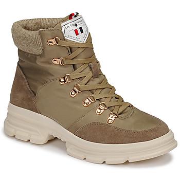 Shoes Women Mid boots Les Tropéziennes par M Belarbi CAKE Kaki