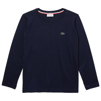 material Boy Long sleeved shirts Lacoste TJ2093-166-J Marine