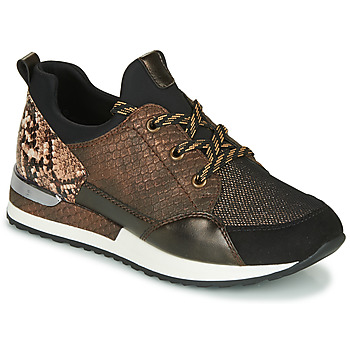 Shoes Women Low top trainers Remonte Dorndorf R2503-24 Brown / Reptile