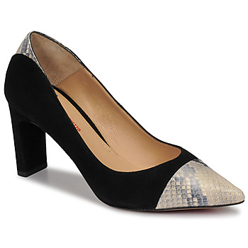 Shoes Women Court shoes Perlato JAMIRI Black / Beige