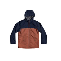 material Boy Blouses Quiksilver WAITING PERIOD Marine / Brown