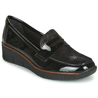 Shoes Women Loafers Rieker  Black