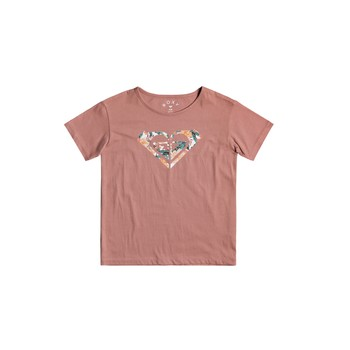 material Girl short-sleeved t-shirts Roxy DAY AND NIGHT Pink