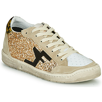 Shoes Women Low top trainers Serafini SAN DIEGO Beige / Gold