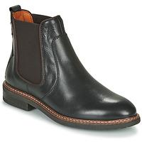 Shoes Women Mid boots Pikolinos ALDAYA W8J Black / Brown