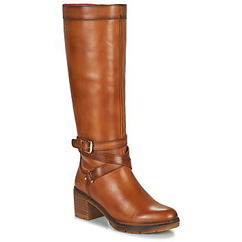 Shoes Women Boots Pikolinos LLANES W7H Brown