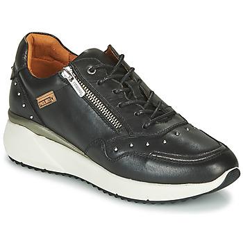 Shoes Women Low top trainers Pikolinos SELLA W6Z Black