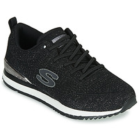 Shoes Women Low top trainers Skechers SUNLITE Black