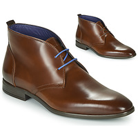 Shoes Men Mid boots Azzaro ISSARD Cognac