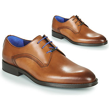 Shoes Men Derby shoes Azzaro DOLIC Cognac