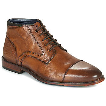 Shoes Men Mid boots Azzaro TELLIS Cognac