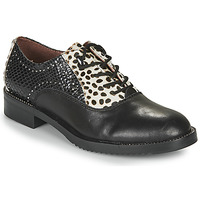 Shoes Women Derby shoes Café Noir JEREL Black / White
