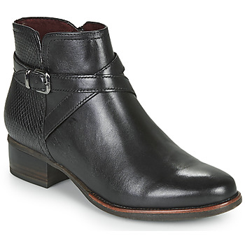 Shoes Women Ankle boots Tamaris MARLY Black