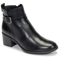 Shoes Women Ankle boots Tamaris PAULETTA Black