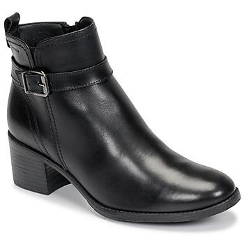 Shoes Women Ankle boots Tamaris PAULETTA Black