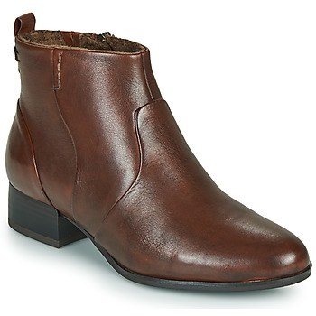 Shoes Women Ankle boots Tamaris YAMILA Brown