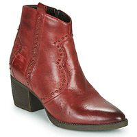 Shoes Women Ankle boots Elue par nous HERBU Bordeaux
