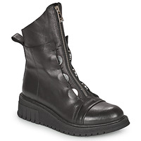 Shoes Women Mid boots Metamorf'Ose HARISSA Black
