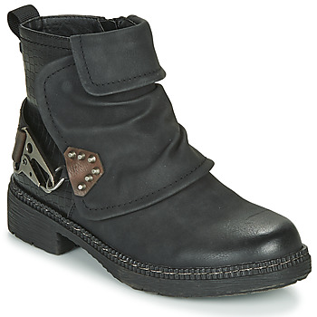 Shoes Women Mid boots Emmshu CLAP Black