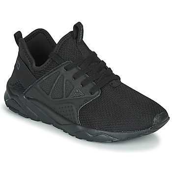 Shoes Children Low top trainers Kappa SAN DIEGO LACE Black