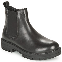 Shoes Girl Mid boots Gioseppo ZEIL Black