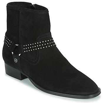 Shoes Women Mid boots Ikks BOOTS GAUCHO Black