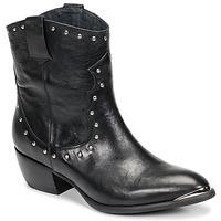 Shoes Women Boots Ikks BOTTES Black