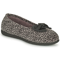 Shoes Women Slippers Isotoner 97261 Leopard