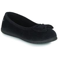 Shoes Women Slippers Isotoner 97258 Black