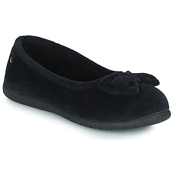 Shoes Women Slippers Isotoner 97258 Black