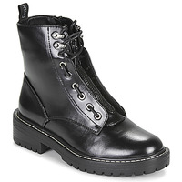 Shoes Women Mid boots Only BOLD 4 PU LACE UP BOOT Black