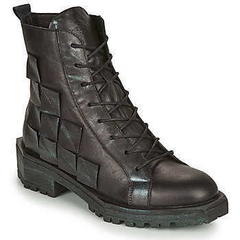 Shoes Women Mid boots Papucei MEI Black