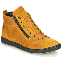 Shoes Women High top trainers Pataugas JULIA/CR F4F Ocre tan