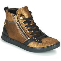 Shoes Women High top trainers Pataugas JULIA/CR F4F Gold