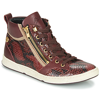 Shoes Women High top trainers Pataugas JULIA/MIX F4F Raisin