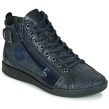 Shoes Women High top trainers Pataugas PALME/C F4F Marine