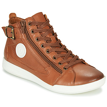 Shoes Women High top trainers Pataugas PALME/N F4D Cognac