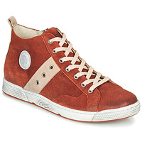 Shoes Men High top trainers Pataugas JAGGER/CR H4F Brick