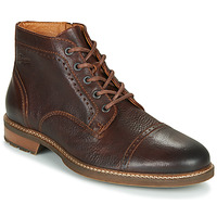 Shoes Men Mid boots Pataugas RENAUD H4F Brown