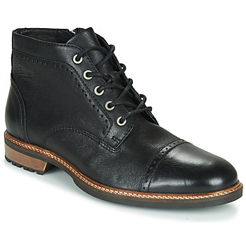 Shoes Men Mid boots Pataugas RENAUD H4F Black