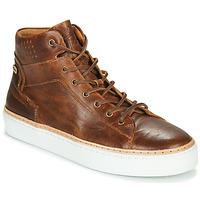 Shoes Men High top trainers Pataugas SERGIO H4F Cognac