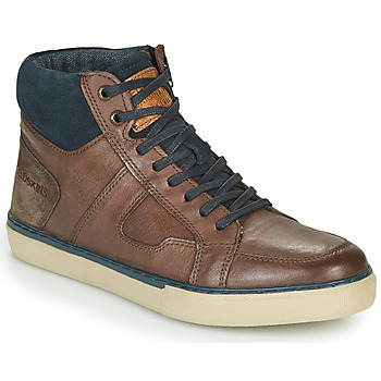 Shoes Men High top trainers Redskins CIZAIN Brown